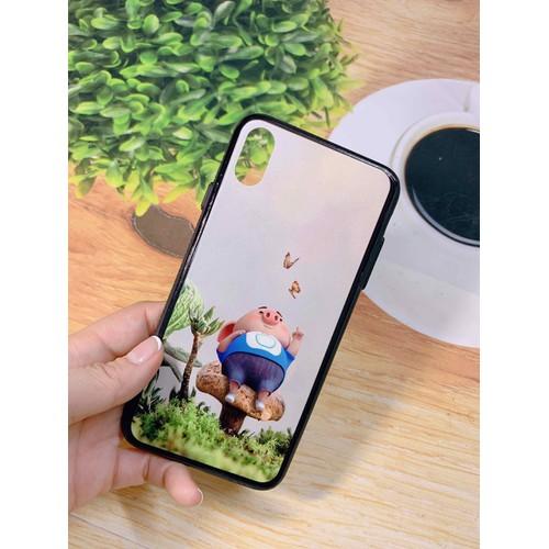 Ốp lưng Iphone XS Max - lưng cứng viền dẻo