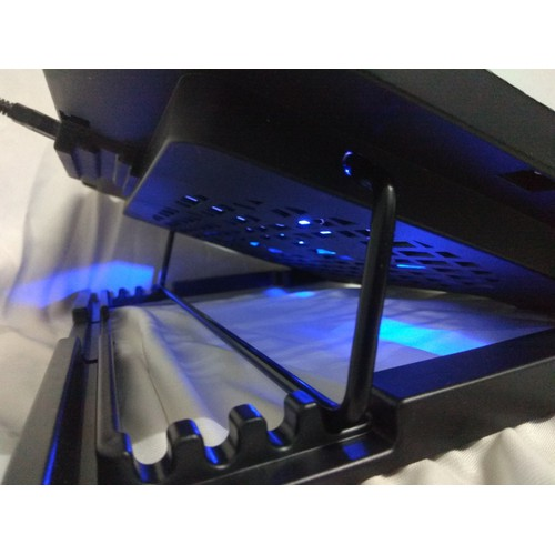 Đế quạt tản nhiệt 5 cấp nâng hạ, mặt tản nhiệt cứng có đèn Led Blue bền đẹp - 6967897 , 16928839 , 15_16928839 , 165000 , De-quat-tan-nhiet-5-cap-nang-ha-mat-tan-nhiet-cung-co-den-Led-Blue-ben-dep-15_16928839 , sendo.vn , Đế quạt tản nhiệt 5 cấp nâng hạ, mặt tản nhiệt cứng có đèn Led Blue bền đẹp