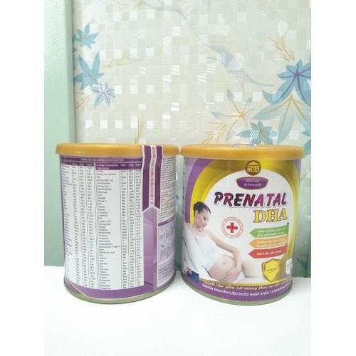 !!Nhập bjvx9mal giảm 10k!!sữa bầu prenatal dha 400g mẹ bầu an tâm