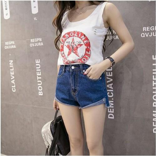 Quần short jean nữ trẻ trung - 4782867 , 16944692 , 15_16944692 , 105000 , Quan-short-jean-nu-tre-trung-15_16944692 , sendo.vn , Quần short jean nữ trẻ trung