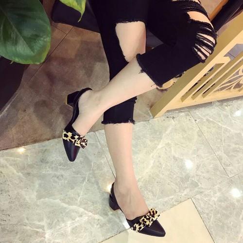 Giày sandal cao gót nơ đẹp