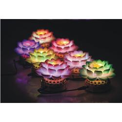 Bộ đèn thờ kinh dược sư 7 màu