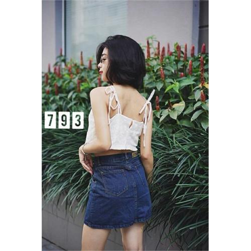 Chân váy jean nữ năng động - 4782792 , 16944593 , 15_16944593 , 125000 , Chan-vay-jean-nu-nang-dong-15_16944593 , sendo.vn , Chân váy jean nữ năng động