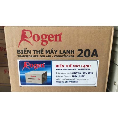 Biến thế máy lạnh Rogen 20A