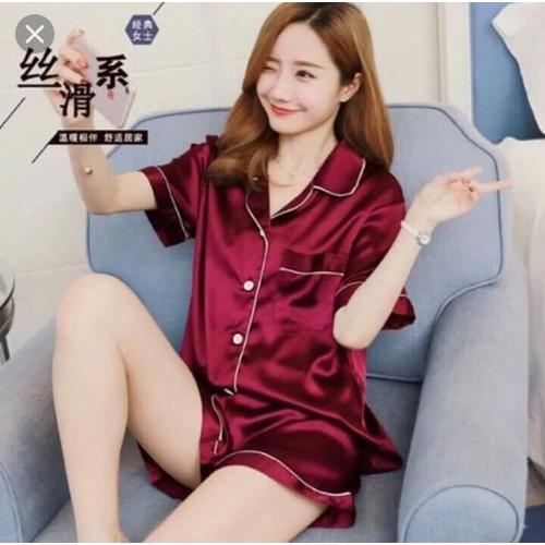 sét  đồ bộ đùi pijama dễ thương cao cấp kèm ảnh thật