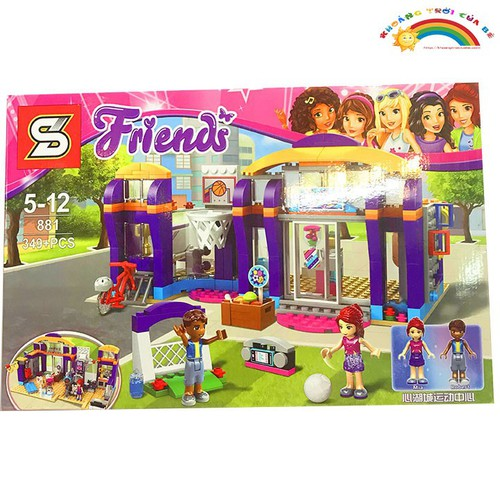 Đồ Chơi Trẻ Em Lắp ghép Friends 881  [ĐỒ CHƠI TRÍ TUỆ] - 4609266 , 16928965 , 15_16928965 , 541000 , Do-Choi-Tre-Em-Lap-ghep-Friends-881-DO-CHOI-TRI-TUE-15_16928965 , sendo.vn , Đồ Chơi Trẻ Em Lắp ghép Friends 881  [ĐỒ CHƠI TRÍ TUỆ]