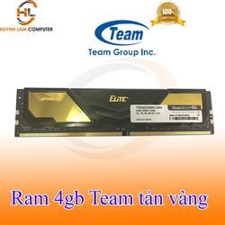 Ram 4GB - Ram 4GB Team Elite DDR4 MHz2400 Tản vàng chính hãng Network hub phân phối