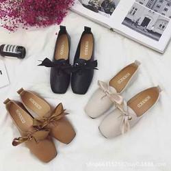 giày da nơ