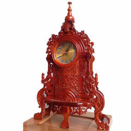 đồng hồ mặt quỷ gỗ hương
