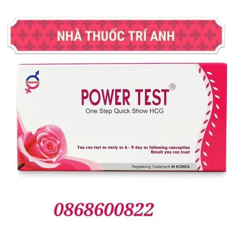 Que Thử Thai Bản To Phát Hiện Thai Sớm Sau 6-9 Ngày Power Test