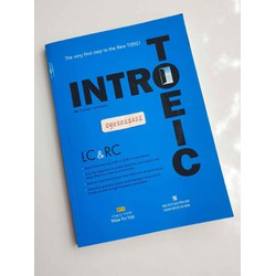 sách tiếng anh intro toeic