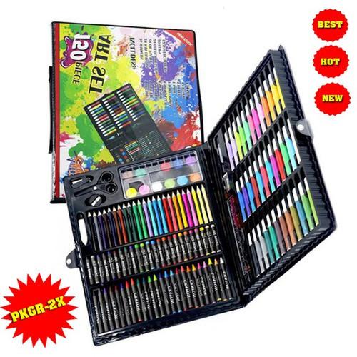 Bộ Bút Tô Màu 150 Chi Tiết Cho Bé|BO TO MAU 150 MON|BUT TO MAU
