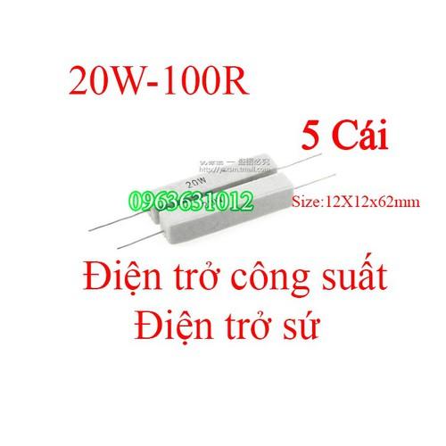 Trở công suất 20W-100R Điện trở sứ - 6985583 , 16939961 , 15_16939961 , 39000 , Tro-cong-suat-20W-100R-Dien-tro-su-15_16939961 , sendo.vn , Trở công suất 20W-100R Điện trở sứ