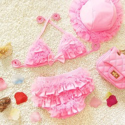 Bikini kèm mũ cho bé