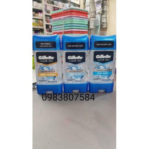 Lăn Nách Nam Gillette Dạng Gel 107g