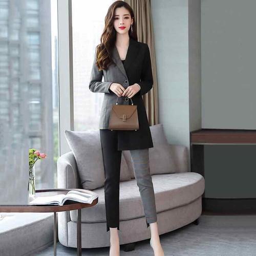 Bộ vest nữ cao cấp thiết kế độc đáo mới lạ - 6978087 , 16936085 , 15_16936085 , 950000 , Bo-vest-nu-cao-cap-thiet-ke-doc-dao-moi-la-15_16936085 , sendo.vn , Bộ vest nữ cao cấp thiết kế độc đáo mới lạ
