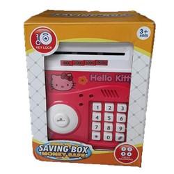 Két sắt hình thú có chìa khoá dễ thương hút tiền tự động giúp trẻ tiết kiệm tiền từ nhỏ
