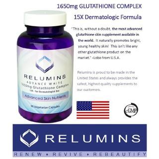 Viên Uống Trắng Da Mờ Nám Relumins Advance White 90 viên Mỹ - Relumins 90 viên thumbnail