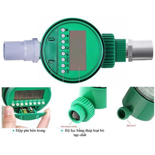 Đồng hồ hẹn giờ tưới nước tự động dùng pin