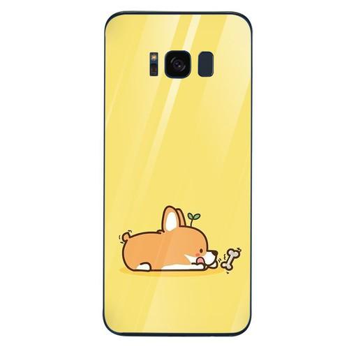 Ốp kính cường lực dành cho điện thoại Samsung S8 - hình phong cách độc đáo - pcdd013 - hàng chất lượng cao