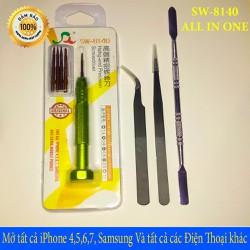 Trọn Bộ đồ nghề sửa Điện Thoại iPhone 4,5,6,7,8,X và Tất cả điện thoại khác - SW8140