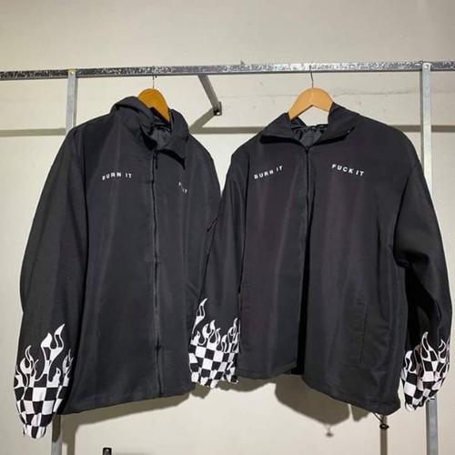 áo khoác dù kiểu đẹp