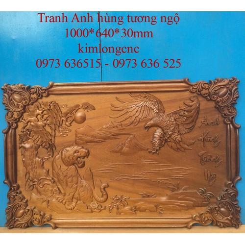 Tranh gỗ Anh Hùng tương ngộ - 4613477 , 16958067 , 15_16958067 , 3200000 , Tranh-go-Anh-Hung-tuong-ngo-15_16958067 , sendo.vn , Tranh gỗ Anh Hùng tương ngộ