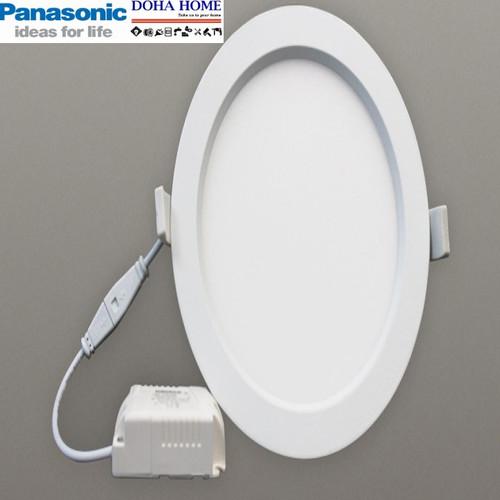 Đèn LED Downlight siêu mỏng đổi màu Panasonic 12w - tuổi thọ 25.000 giờ thắp sáng liên tục 24 trên 24 ba năm