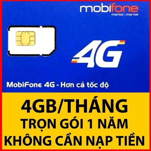 SIM 3G 4G MOBI MIỄN PHÍ 1 NĂM VÀO MẠNG