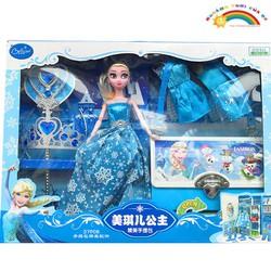 Đồ Chơi Trẻ Em Elsa kèm vương miện túi xách [ĐỒ CHƠI TRÍ TUỆ]