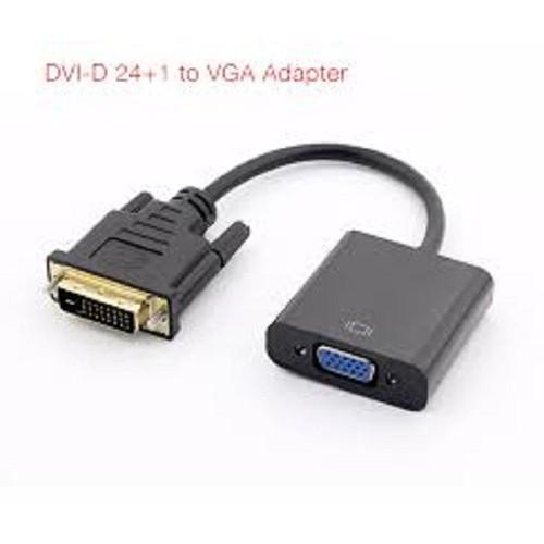Cáp DVI to VGA Adapter Có chipset.
