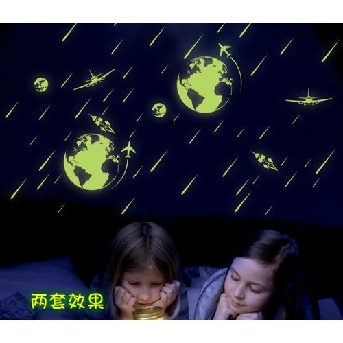 Decal trang trí Vũ Trụ - Dạ Quang