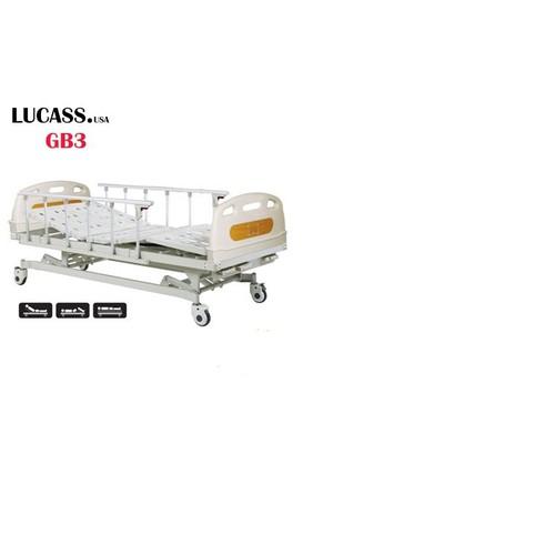 Giường bệnh nhân 3 tay quay Lucass GB3 - 7012699 , 16956672 , 15_16956672 , 10500000 , Giuong-benh-nhan-3-tay-quay-Lucass-GB3-15_16956672 , sendo.vn , Giường bệnh nhân 3 tay quay Lucass GB3