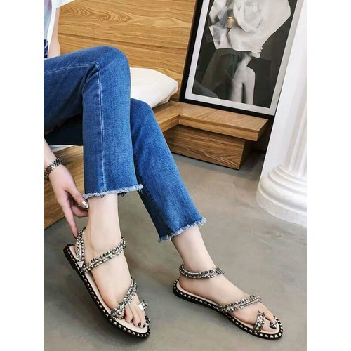 Giày sandal nữ đế bệt xỏ ngón - 7009473 , 16954366 , 15_16954366 , 285000 , Giay-sandal-nu-de-bet-xo-ngon-15_16954366 , sendo.vn , Giày sandal nữ đế bệt xỏ ngón