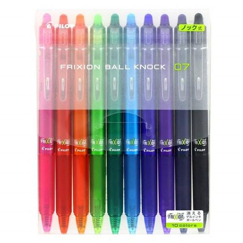 Bút bi Pilot 10 màu - Hàng nội địa Nhật