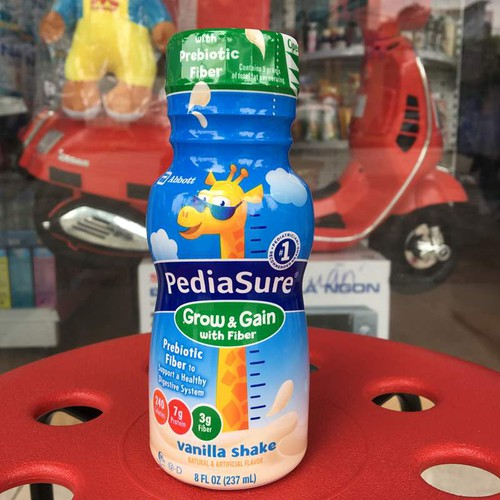 Sữa nước Pediasure bổ sung chất xơ, hương vani, 237 ml của Mỹ - 7027976 , 16966765 , 15_16966765 , 65000 , Sua-nuoc-Pediasure-bo-sung-chat-xo-huong-vani-237-ml-cua-My-15_16966765 , sendo.vn , Sữa nước Pediasure bổ sung chất xơ, hương vani, 237 ml của Mỹ