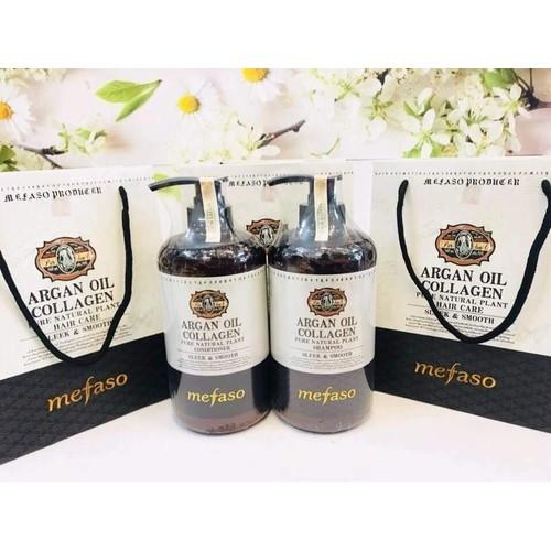 Cặp dầu gội xả Collagen Mefaso Italy siêu mềm mượt, phục hồi mái tóc hư tổn - 7018858 , 16960970 , 15_16960970 , 450000 , Cap-dau-goi-xa-Collagen-Mefaso-Italy-sieu-mem-muot-phuc-hoi-mai-toc-hu-ton-15_16960970 , sendo.vn , Cặp dầu gội xả Collagen Mefaso Italy siêu mềm mượt, phục hồi mái tóc hư tổn