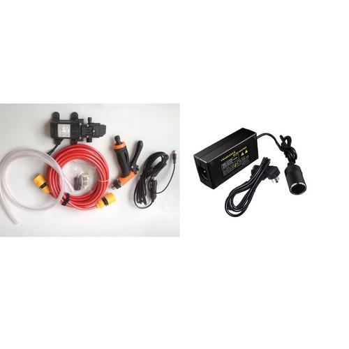 Bộ Máy bơm rửa xe tăng áp lực nước mini kèm adapter 12v 5A tẩu thuốc - 7000839 , 16948834 , 15_16948834 , 490000 , Bo-May-bom-rua-xe-tang-ap-luc-nuoc-mini-kem-adapter-12v-5A-tau-thuoc-15_16948834 , sendo.vn , Bộ Máy bơm rửa xe tăng áp lực nước mini kèm adapter 12v 5A tẩu thuốc