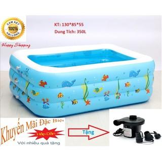 Bể Bơi SINPO 3 Tầng + Tặng Bơm Điện 2 Chiều - BEBOINHO thumbnail