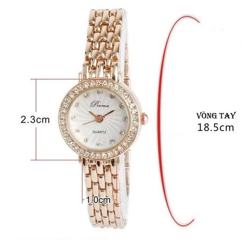Đồng hồ nữ PREMA-JP - 4612353 , 16950755 , 15_16950755 , 250000 , Dong-ho-nu-PREMA-JP-15_16950755 , sendo.vn , Đồng hồ nữ PREMA-JP