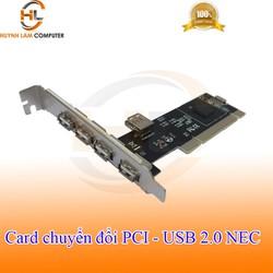Card chuyển đổi PCI sang USB 2.0 NEC 4 cổng usb