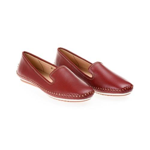 Giày lười nữ da thật 140009