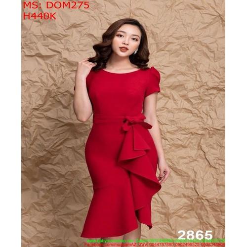 Đầm dự tiệc màu đỏ ôm body kiểu bèo xinh đẹp DOM275 - 7002059 , 16949570 , 15_16949570 , 440000 , Dam-du-tiec-mau-do-om-body-kieu-beo-xinh-dep-DOM275-15_16949570 , sendo.vn , Đầm dự tiệc màu đỏ ôm body kiểu bèo xinh đẹp DOM275