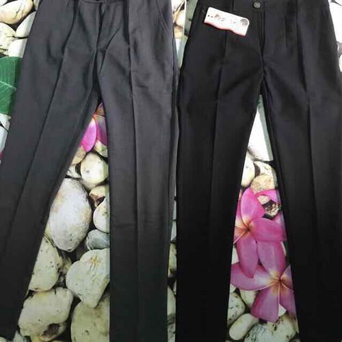 quần tây công sở LƯNG CAO đen và xám xanh đen