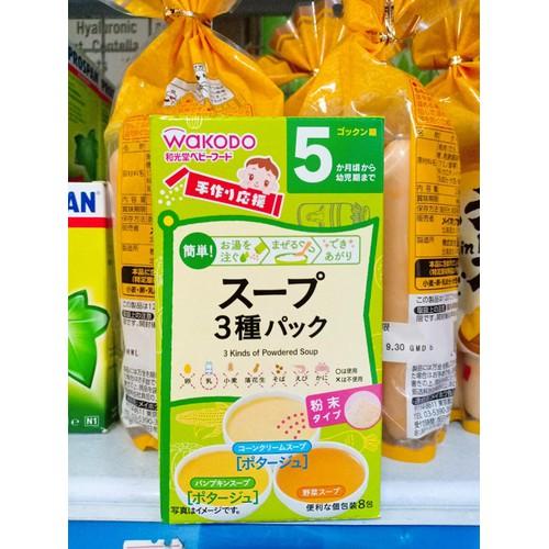 Bột ăn dặm wakodo Nhật Bản 5th 3 vị súp rau - 7031600 , 16968923 , 15_16968923 , 74000 , Bot-an-dam-wakodo-Nhat-Ban-5th-3-vi-sup-rau-15_16968923 , sendo.vn , Bột ăn dặm wakodo Nhật Bản 5th 3 vị súp rau