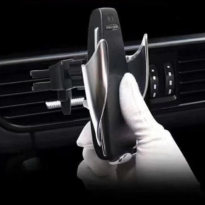 Sạc điện thoại không dây S5 kiêm kẹp điện thoải cảm biến tự động đóng mở 1