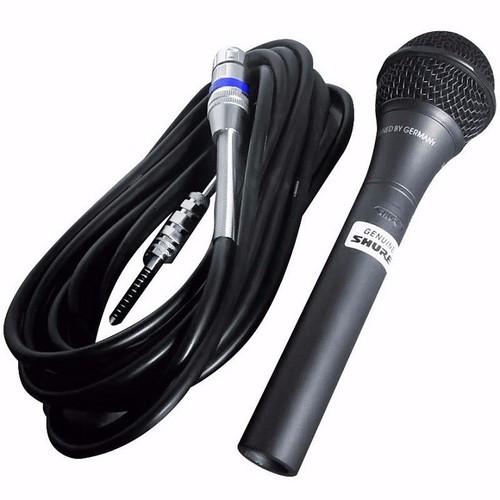 Micro karaoke có dây Shua 959