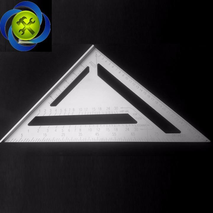 Thước tam giác nhôm lớn 300mm x 300mm x 430mm 4
