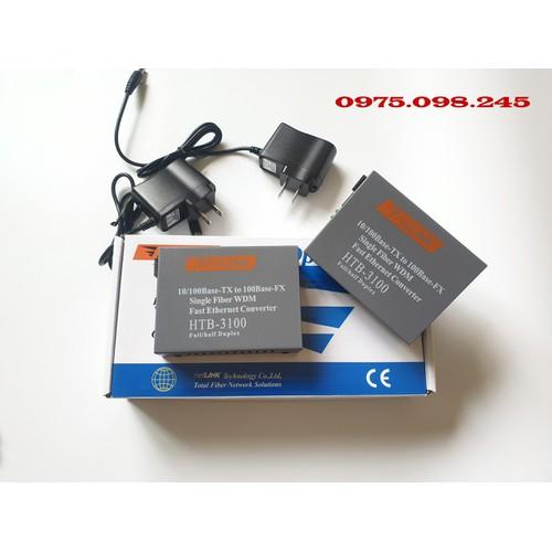 5 Cặp Converter NetLink HTB-3100 A B Bộ chuyển đổi quang điện 1fo giá rẻ