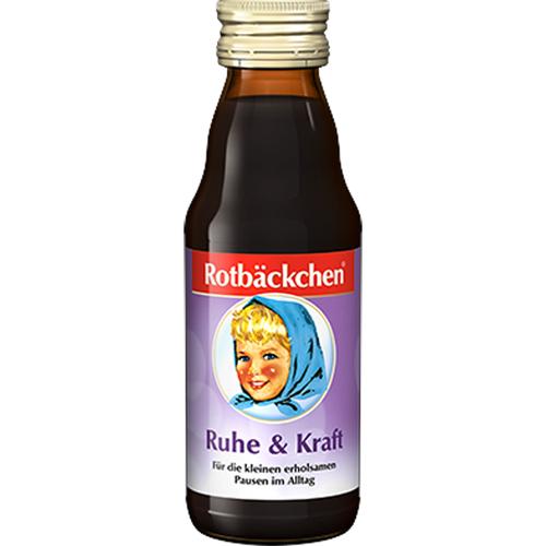 Nước Ép Trái Cây Bổ Dưỡng Cho Bé Rotbäckchen Ruhe & Kraft - Ngoan & khỏe- 125ml